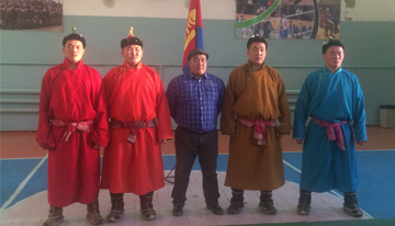"B.Khatanzolboo began to be wrestled in the name of ""Khanbogd Khurd"" LLC"